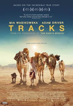 Tracks Movie Poster #Mia Wasikowska
