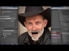 (64) After Effects - Make Pictures Talk - YouTube