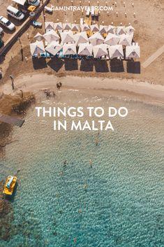 A full travel guide to Malta: Things to do in Malta, Places to visit in Malta, Food to try in Malta #malta #gozo #beachesinmalta #europe #valleta #visitmalta #maltatourism #visitgozo #gozotourism #vacation via @gamintraveler Malta Valletta, Malta Travel Guide, Travel Guides, Travel Hacks, Travel Europe Cheap, European Travel, Top Travel Destinations, Places To Travel, Reisen In Europa