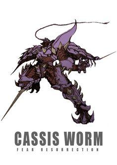 Cassis worm By zakkizaki http://touch.pixiv.net/member_illust.php?id=1626957