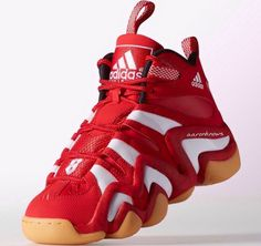official photos 4591a a61c2 adidas Crazy 8 Red White - Gum With a bucket hat and cargo shorts. A white  tee shirt two sizes to large. Everyone knows youre trouble once youve  been ...