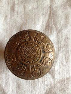 Vintage Antique Victorian Brass Door Knob by OpenSaysAMe on Etsy, $39.00