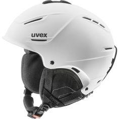 dd6fc579e3 Uvex P1us Winter Sports Ski Helmet - 566153 (white mat - 52-55)