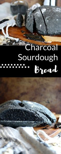 The perfect sourdough flavour and the perfect black colour make this black, charcoal bread both fun to make and healthy to eat!
