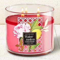 Watermelon Lemonade 3-Wick Candle - Home Fragrance 1037181 - Bath & Body Works