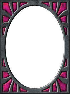 Presentation Photo Frames: Tall Oval Sunburst, Style 05