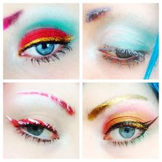 Christmas Eye Make Up Looks