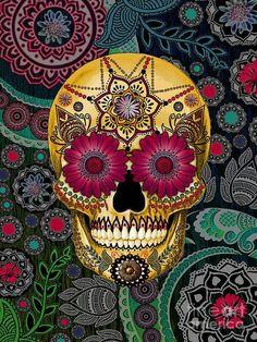 Dia de Los Muertos ~ sugar skull