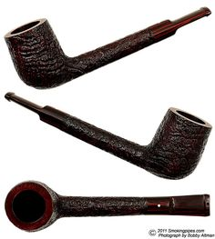 The lovat shape is one of my favorites.  It is, I think, one of the classiest of pipe shapes and this Dunhill Cumberland pretty much takes the cake on classy.
