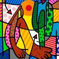 Azulejos - Abaporu Romero Britto