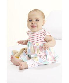 £10  Mothercare Dress And Leggings Set