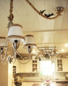 @Holly Hardge mentioned this would look great on the light fixture in my dining room, she always has the best advice =]