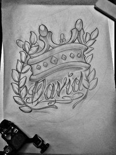 king david sketch by michaelbrito.deviantart.com on @deviantART