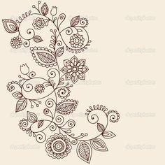 Mandala enredadera tatoo