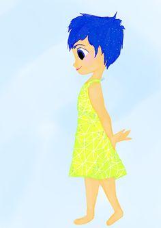 Little Joy #insideout #disney #disneydrawing #drawing #fanart #disneyfanart #emotions #disneyart #digtialdrawing