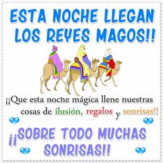 Reyes magos imagenes Merry Christmas To You, Christmas Time, Christmas Ideas, Monday Morning Quotes, Mexican Holiday, Kings Day, Mr Wonderful, Learning Spanish, Christmas Traditions