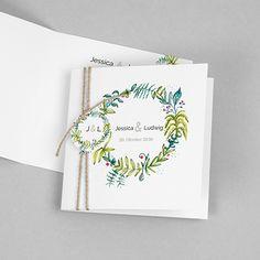Einladungskarte Hochzeit Ich Du Wir In 2018 Hochzeit In Grun
