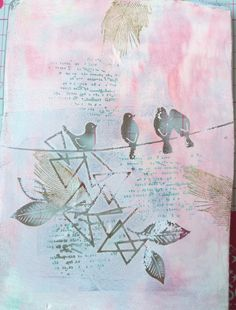 """Seve Line : #Tampons et #matrices de coupe #dies #4enSCRAP """"Fonds de texte"""" #animaux #scrapbooking #DIY #loisirscréatifs #carte #carterie Mini Albums, Tampons Transparents, Hello Welcome, Scrapbooking Diy, Creations, Presents, Painting, Beautiful, Plate"""