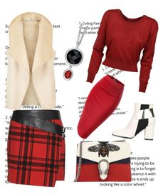 Rw by jeriol on Polyvore featuring polyvore fashion style Dolce&Gabbana Hobbs Yves Saint Laurent Pollini Gucci clothing