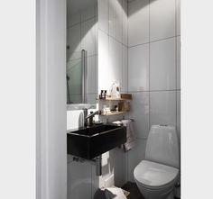 baño visitas bajo escalera decoracion - Buscar con Google