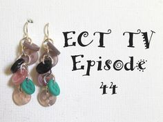 ECT TV Episode 44: How to Make Button Earrings