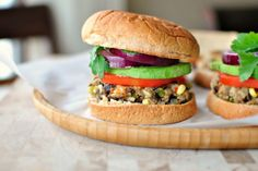 #SexyShred #SexyShredRecipes Southwest Black Bean + Rice Veggie Burgers - www.SimplyScratch.com - organic canned black beans or make fresh; organic non-GMO sweet corn; additive-free bread crumbs (or make your own from approved bread); cage-free or free range organic egg