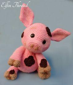 Francis The Piglet Amigurumi Pattern