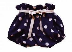 Adorable reversible bloomer!