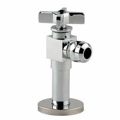 Renovators Supply Manufacturing Cross Handle Toilet Angle Stop Valve FIP OD Chrome-Plated Brass Projection with Flange Heavy Duty Bathroom Toilets, Bathroom Faucets, Faucet Kitchen, Corner Toilet, Traditional Toilets, Dual Flush Toilet, Wax Ring, Wall Hung Toilet, Old Bathrooms