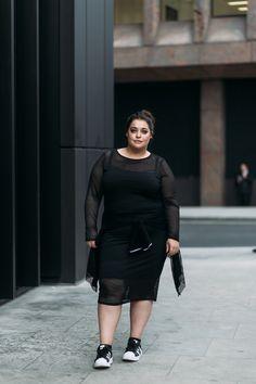 Plus Size Fashion for Women - Danielle Vanier: The Dressed Down Bodycon