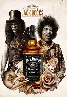 Jack Daniels by Jamie Bradford Jack Daniels Logo, Jack Daniels Bottle, Jack Daniels Whiskey, Jack Daniels Tattoo, Bourbon Whiskey, Bebidas Jack Daniels, Jack Daniels Cocktails, Jack Daniels Wallpaper, Whisky Jack