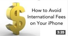 Avoid International Fees On Your iPhone