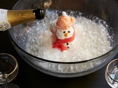 Get Snowman Punch Recipe from Food Network