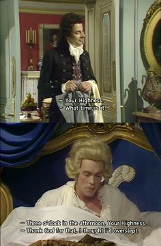 Prince George in Blackadder The Third never fails to amuse! British Sitcoms, British Comedy, Stupid Funny, The Funny, Hilarious, Blackadder Quotes, Comedy Tv, Comedy Quotes, Funny Pictures Can't Stop Laughing