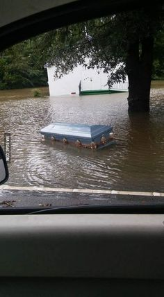 Flooding in South Carolina is causing coffins to exhume