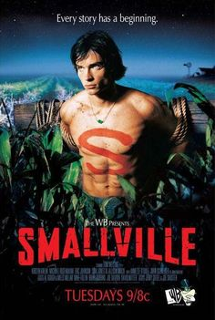 Smallville: The Complete First Season on DVD from Warner Bros. Staring Sam Jones III, Tom Welling, Kristin Kreuk and John Schneider. More Action, Boxed Sets and Based On Comic Book DVDs available @ DVD Empire. Movies And Series, Cw Series, Dc Movies, Movies And Tv Shows, Tom Welling, Smallville, Annette O'toole, John Schneider, Kristin Kreuk