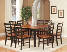 12 best Square Dining Tables images on Pinterest   Dining rooms ...