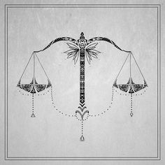 Image result for balance tattoo