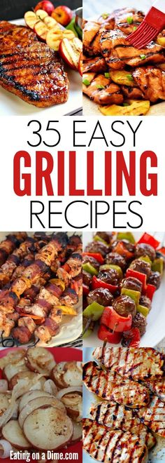 35 Easy Grill recipes to try this Summer