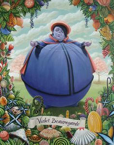 Violet Beauregarde by Ryan Sanchez [©2012]