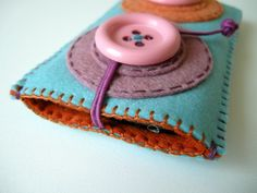 Japan Relief: Giant Button iPhone case No.2 (turquoise). $39.00, via Etsy.