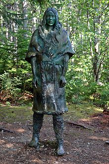 """The Beothuk were a tall people with dark eyes and black hair. The origin of the Beothuk is not established ,but it is believed that they are distant relatives of the Algonquin and that they came to Newfoundland, from Labrador, across the Strait of Belle Isle.Beothuk living sites and burial grounds abound in Newfoundland. It is believed that they inhabited the land for almost 2000 years. From the time they were """"discovered"""" they developed what could be called a well-deserved, white-man…"""