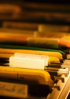 How to set up a filing system for your  genealogy research materials.