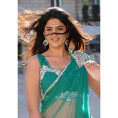 Deeksha Seth in transparent saree