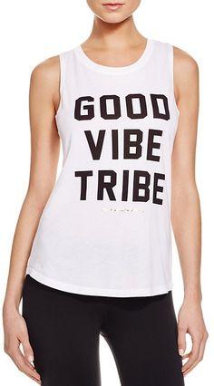 Spiritual Gangster Rocker Good Vibe Tribe Tank