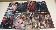 True Blood 1 2 3 4 5 6 Tainted Love 1 2 3 4 5 6 IDW Set Run | eBay  True Blood -sarjakuva! <3 True Blood, Harry Potter, Bows, Baseball Cards, Running, Ebay, Arches, Bowties, Keep Running