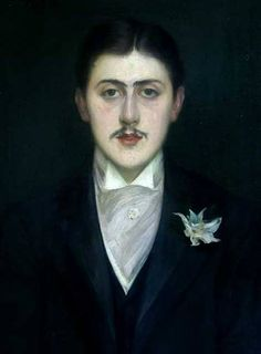 Jacques-Emile Blanche: Marcel Proust (at 21), 1892. Oli on canvas. Musee D'Orsay, Paris.