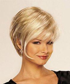 Short Blonde Hair 4