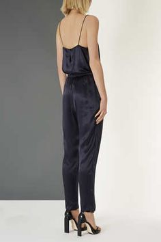 Satin Jumpsuit By Boutique
