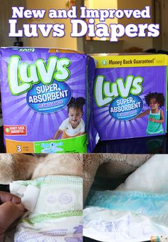 New and Improved Luvs Diapers and Luvs Club - Growing Up Blackxican